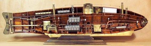 Ictineo_submarine_cross_section
