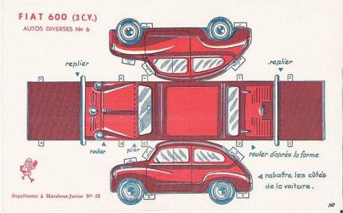 Car_paper_model_fiat