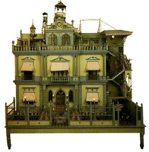 Dollhouse Miniatures In Las Vegas: When Rich Women Built Houses